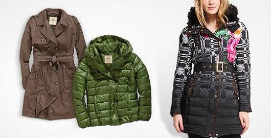 Zimní kabáty i bundy pro dámy