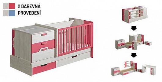 S jedním kusem nábytku od miminka až po školáka? Pro kvalitní rostoucí postýlku není nic nemožné