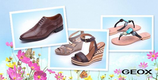 Geox - obuv, která dýchá, se slevou až 41 %