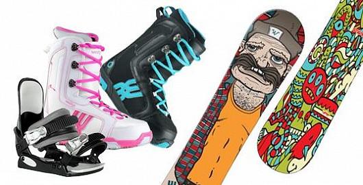 Špičkové dětské snowboardové sety zlevněné o 54 %!