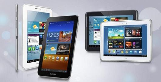 Oblíbené tablety GALAXY s Androidem