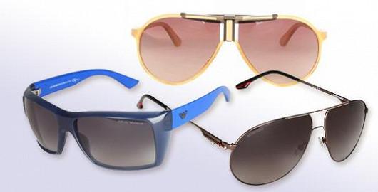 Základním doplňkem na jaře jsou značkové sluneční brýle