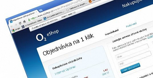 Snazší objednání on-line na 1 klik – s výběrem a nákupem pomůže naživo O2 Guru