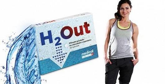 """H2Out za top cenu s cvičebním programem """"ploché břicho"""" a dárkem navíc"""