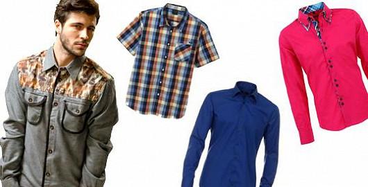 Módní pánské košile se slevami až 73 %