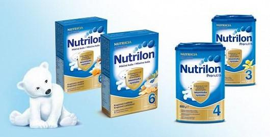 Akce na výživu Nutrilon