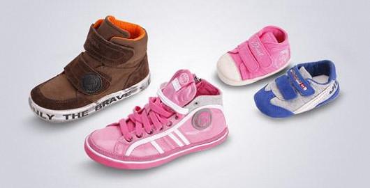Dětská obuv Diesel v akci!