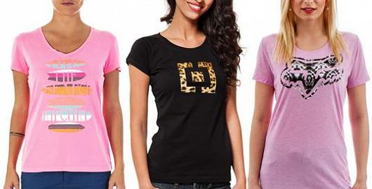 Originální dámská trička od 343 Kč