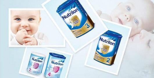 Akce na mléka Nutrilon