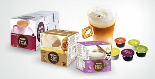 Praktické kávové kapsle NESCAFÉ Dolce Gusto již od 119 Kč