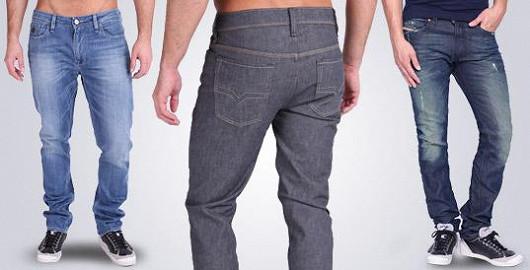 Pánské kalhoty a jeansy světových značek