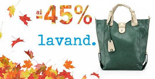 Výprodej Lavand v podzimních barvách se slevou až -45 %