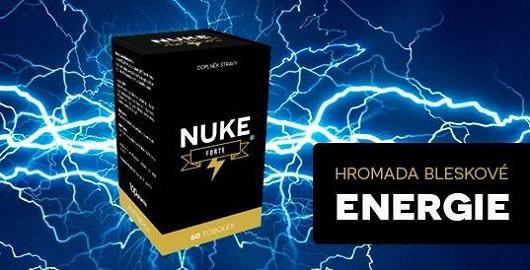 Hromada energie díky bleskovému přísunu nukleotidů z českého výrobku NUKE FORTE!