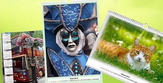 Originální fotokalendáře na rok 2017