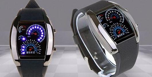 Nejoriginálnější hodinky pro milovníky aut