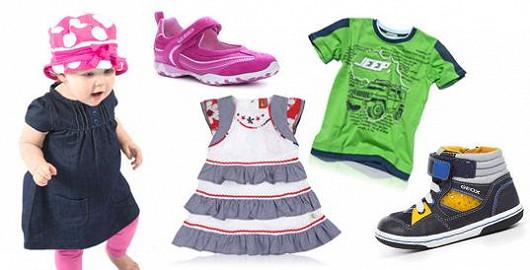 Megavýprodej dětského oblečení a botiček