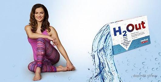 Hanka Kynychová doporučuje pravidelné užívání H2Out! Nyní za akční cenu s dopravou zdarma