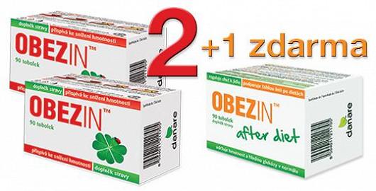 OBEZIN™ na 4 týdny za 796 Kč a navíc zdarma přípravek proti JOJO efektu