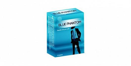 Vyzkoušejte i vy přípravek pro okamžitý nástup erekce Blue Phantom!