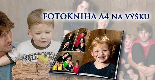 Fotoknihy A4 na výšku - 50% sleva - Kód slevy FKSU50CZ