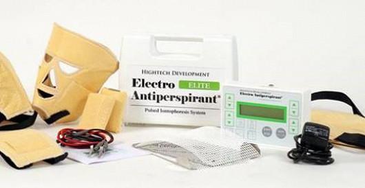 Electro Antiperspirant – první antiperspirant na elektřinu