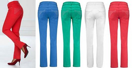 Broďte se podzimním listím v trendy strečových džínách