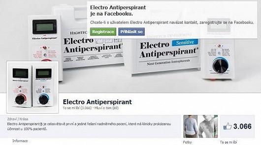 Electro Antiperspiranty doporučují desetitisíce lidí