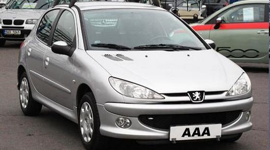 Peugeot 206 1.4 16V / 65 kW, 2006, 88 051 km