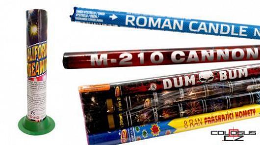 Jak správně použít římskou svíci