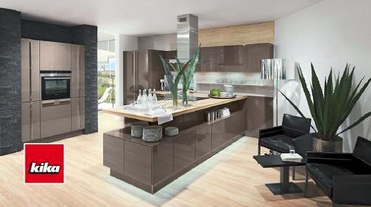 Plánovaná kuchyně Nova Lack