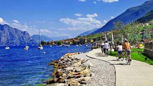 Itálie – Lago di Garda je rájem malých i velkých dobrodruhů