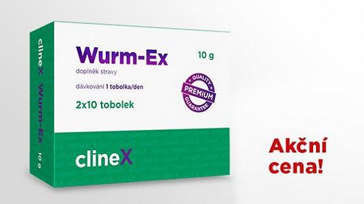 Zúčastněte se klinického testu a získejte Wurm-Ex za jedinečnou cenu!