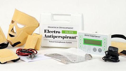 Electro Antiperspirant, jedno řešení proti všem druhům pocení
