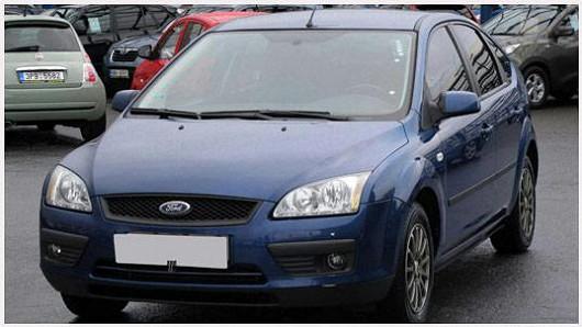 Populární Ford Focus 1.6 TDCi hatchback, z roku 2007, po 1. majiteli, najeto pouze 93874 km