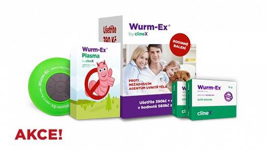 Nepropásněte předvánoční extra výhodné rodinné balení Wurm-Ex®