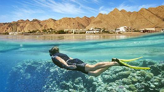 Egypt – luxusní dovolená za hubičku