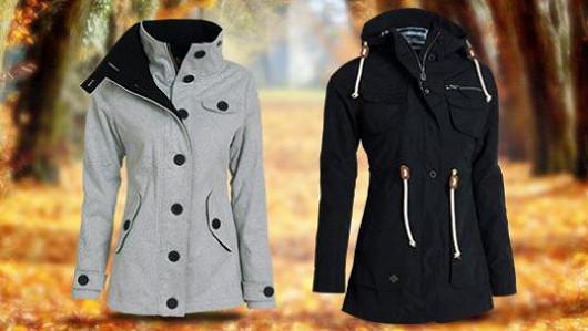 Skvěle padnoucí dámské kabáty!