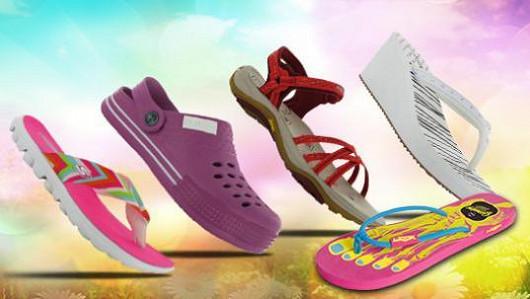 Stylová dámská letní obuv do města i k moři!