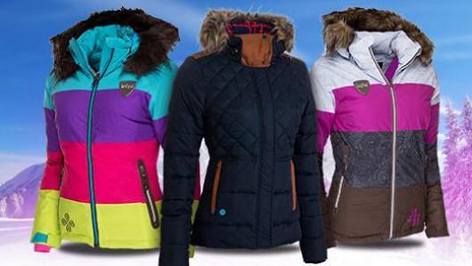 Totální výprodej dámských zimních bund!