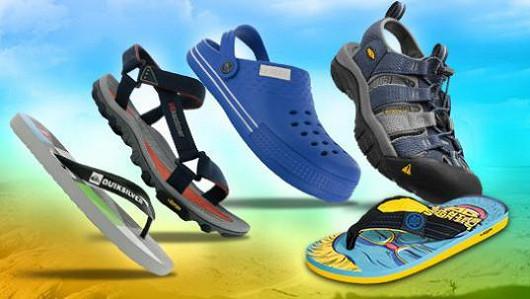 Pánská komfortní letní obuv!