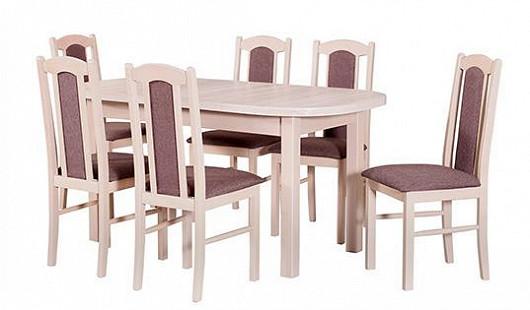 Sejděte se s rodinou u oválného stolu. Tak levně jej i s židlemi nikde jinde nepořídíte!