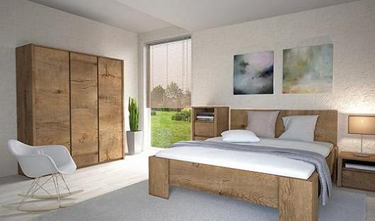 Můžete se klidně s někým vsadit. Je tenhle nábytek ze dřeva nebo není, co myslíte?