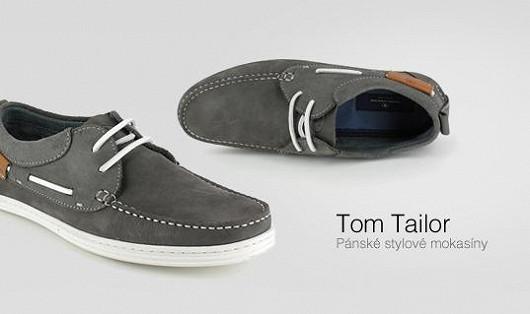Pánské stylové mokasíny Tom Tailor