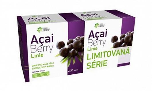 Acai berry linie energetický nápoj, využijete při cvičení, budete mít dostatek energie a zároveň doplníte tekutiny