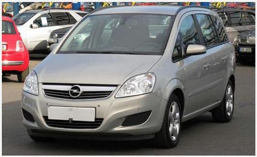 Oblíbený model prostorného MPV OpelZafira 1.9 CDTI, z roku 2007, po 1. majiteli, koupeno nové v ČR, najeto pouze 100344 km