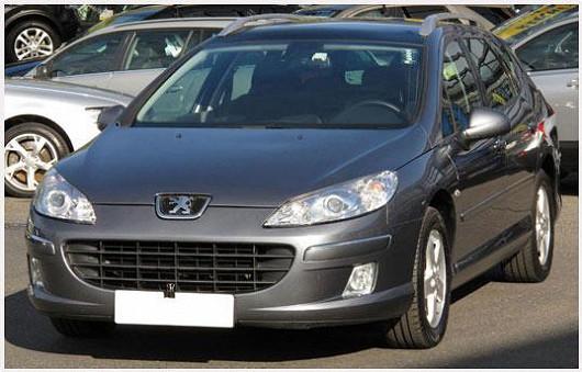 Elegantní a prostorný Peugeot 407 1,6 HDI combi, z roku 2009, po 1. majiteli, najeto pouze 64 344 km