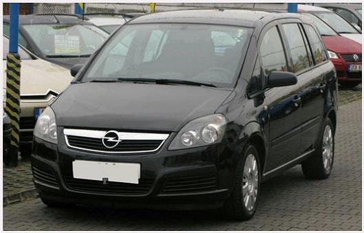 Oblíbený model prostorného MPV OpelZafira 1.9 CDTI, z roku 2007, po 1. majiteli, koupeno nové v ČR, najeto pouze 104424 km