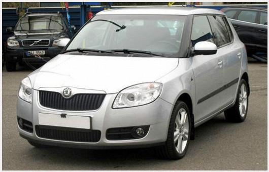 Velmi pěkná Škoda Fabia 1.2 hatchback, z roku 2008, po prvním majiteli, najeto pouze 55 012 km