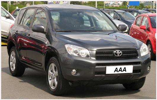 Populární a výkonná ToyotaRAV4 2006 2.2 D-4D, 4x4, po 1. majiteli, najeto pouze 100276 km