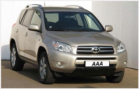 Vyhledávaný model ToyotaRAV4 2.2 D-4D, 4x4, zroku 2009, najeto pouze 87550 km